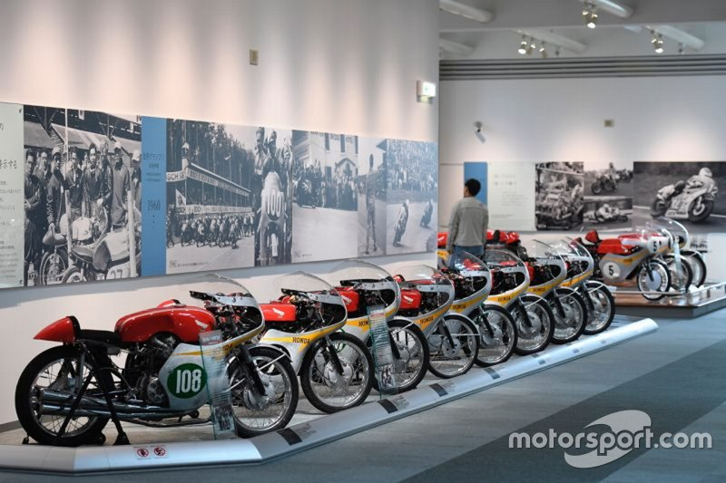 Motocicletas Honda ganadoras de gran premio