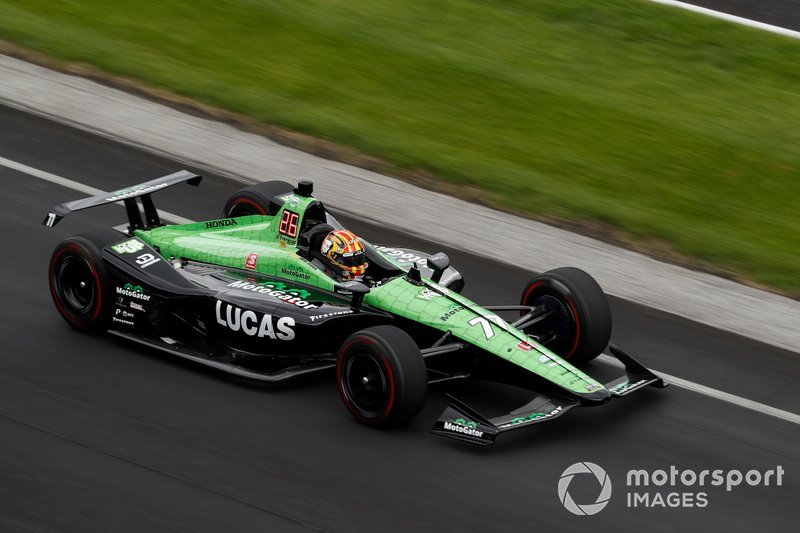 Oriol Servia, Arrow Schmidt Peterson Motorsports Honda Phillip Abbott