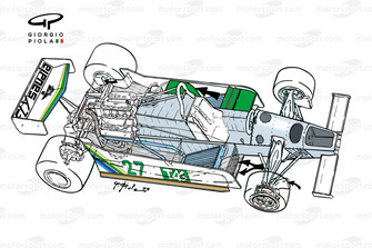Схема Williams FW07 1979 года