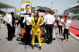 Grid Grl für Jonathan Aberdein, Audi Sport Team WRT