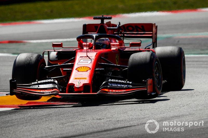 Sebastian Vettel - Ferrari: 7 puan