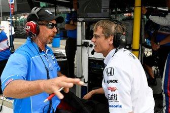 Kevin Blanch, Ricardo Nault, Graham Rahal, Rahal Letterman Lanigan Racing Honda