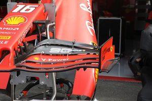 Detalle del alerón delantero del Ferrari SF90
