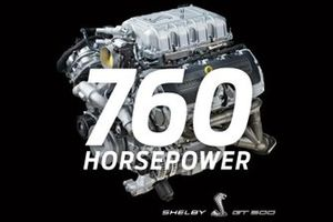 2020 Mustang Shelby GT500 760 HP engine
