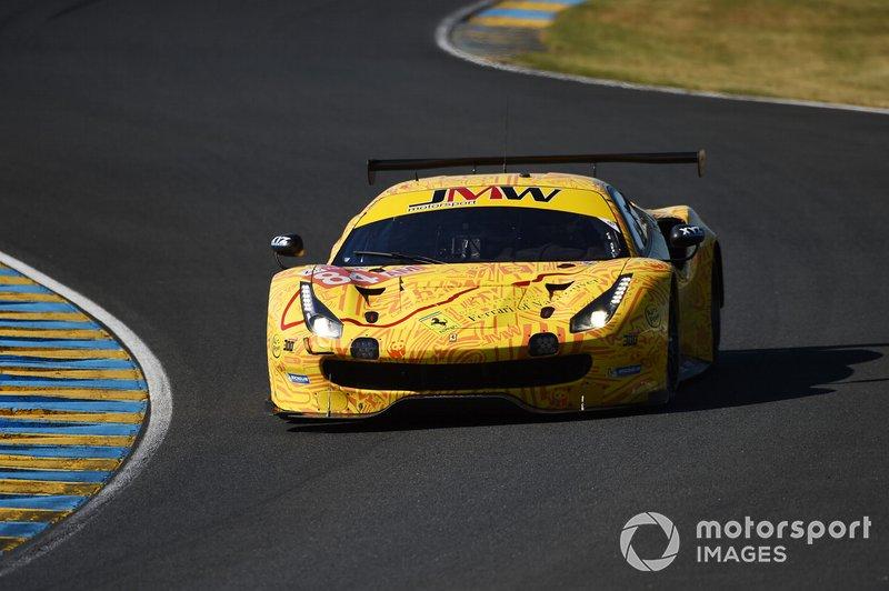 Carte  24 Heures du Mans 2019 JMW Motorsport #84