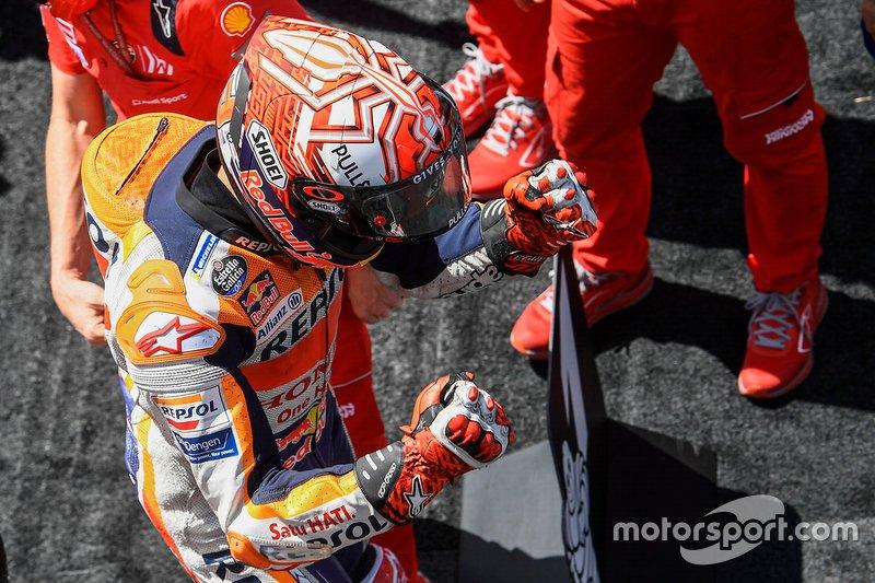 Segundo clasificado Marc Marquez, Repsol Honda Team