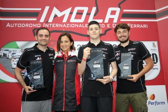 Podio Carrera Cup eSport Series