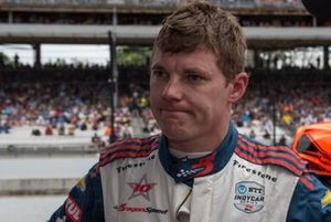 Ben Hanley, DragonSpeed Chevrolet, out of race