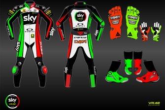 La livrée spéciale du Sky Racing Team VR46