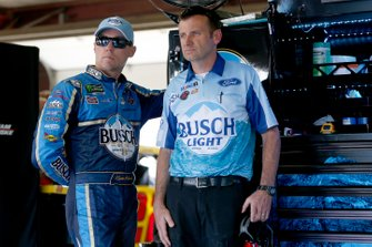 Kevin Harvick, Stewart-Haas Racing, mit Rodney Childers