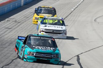 Johnny Sauter, ThorSport Racing, Ford F-150, Tyler Dippel, Young's Motorsports, Chevrolet Silverado Randco Industries, Grant Enfinger, ThorSport Racing, Ford F-150