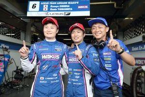 Polesitters #6 Lexus Team LeMans Lexus LC500: Kazuya Oshima, Kenta Yamashita