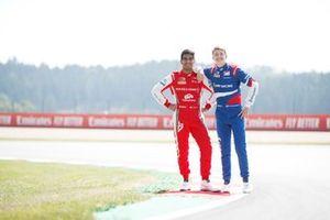 Jehan Daruvala, PREMA Racing and Robert Shwartzman, PREMA Racing
