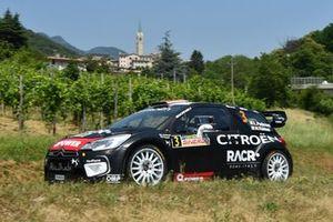 Luca Pedersoli, Anna Tomasi, Citroen DS3 WRC