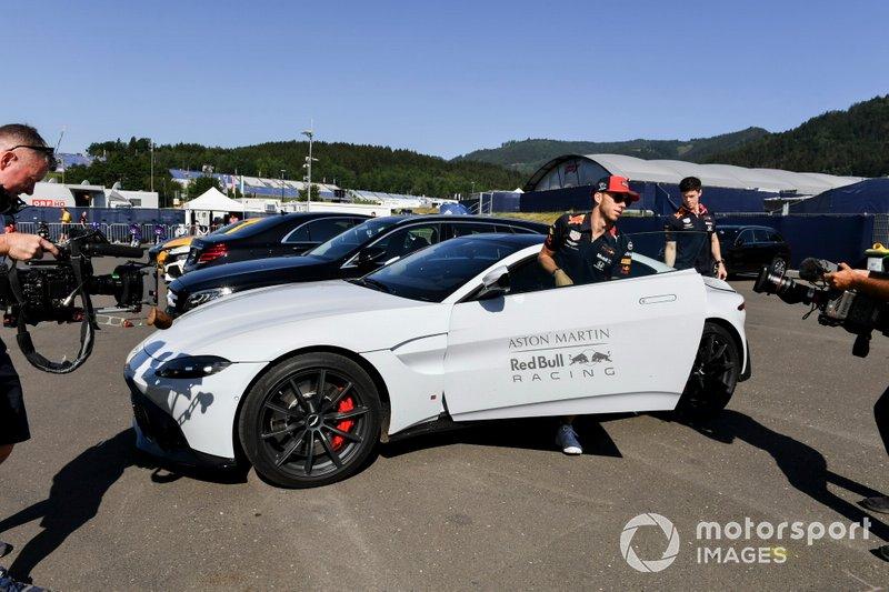 El coche de Pierre Gasly, Red Bull Racing