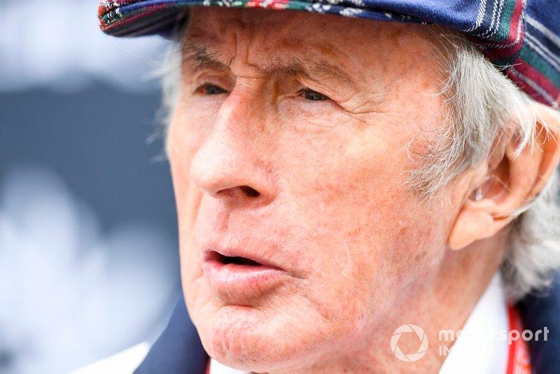Sir Jackie Stewart, tri campeón