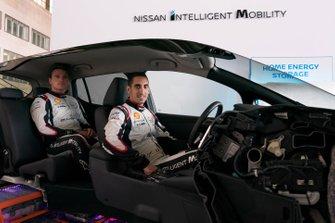 Гонщики Nissan e.dams Себастьен Буэми и Оливер Роуленд