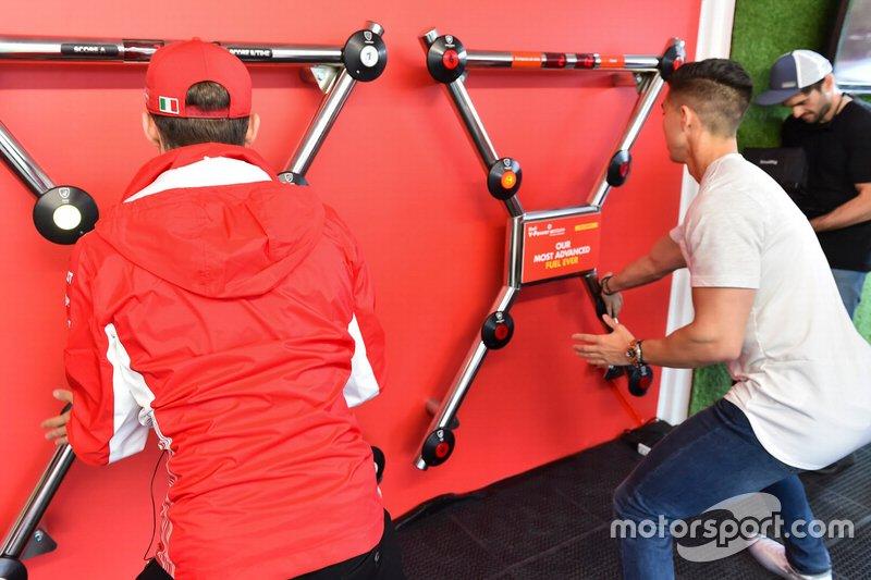 Charles Leclerc, Ferrari alla Shell House