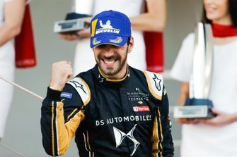 Podium: winnaar Jean-Eric Vergne, DS TECHEETAH