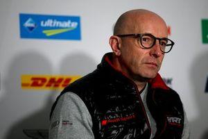 Persconferentie, Vincent Vosse, Team principal Audi Sport Team WRT