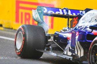 Daniil Kvyat, Toro Rosso après son accident