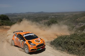 Simone Campedelli, Tania Canton, Ford Fiesta R5, Orange1 M-Sport Rally Team
