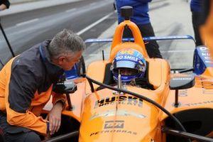 Fernando Alonso, McLaren Chevrolet with Gil de Ferran
