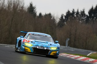 #5 Phoenix Racing Audi R8 LMS: Vincent Kolb, Frank Stippler, Jamie Green
