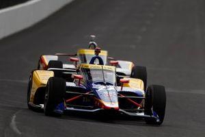 Alexander Rossi, Andretti Autosport Honda, Conor Daly, Ed Carpenter Racing Chevrolet