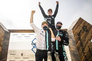 Nico Rosberg, fondatore e CEO, Rosberg X Racing con Molly Taylor, Johan Kristoffersson