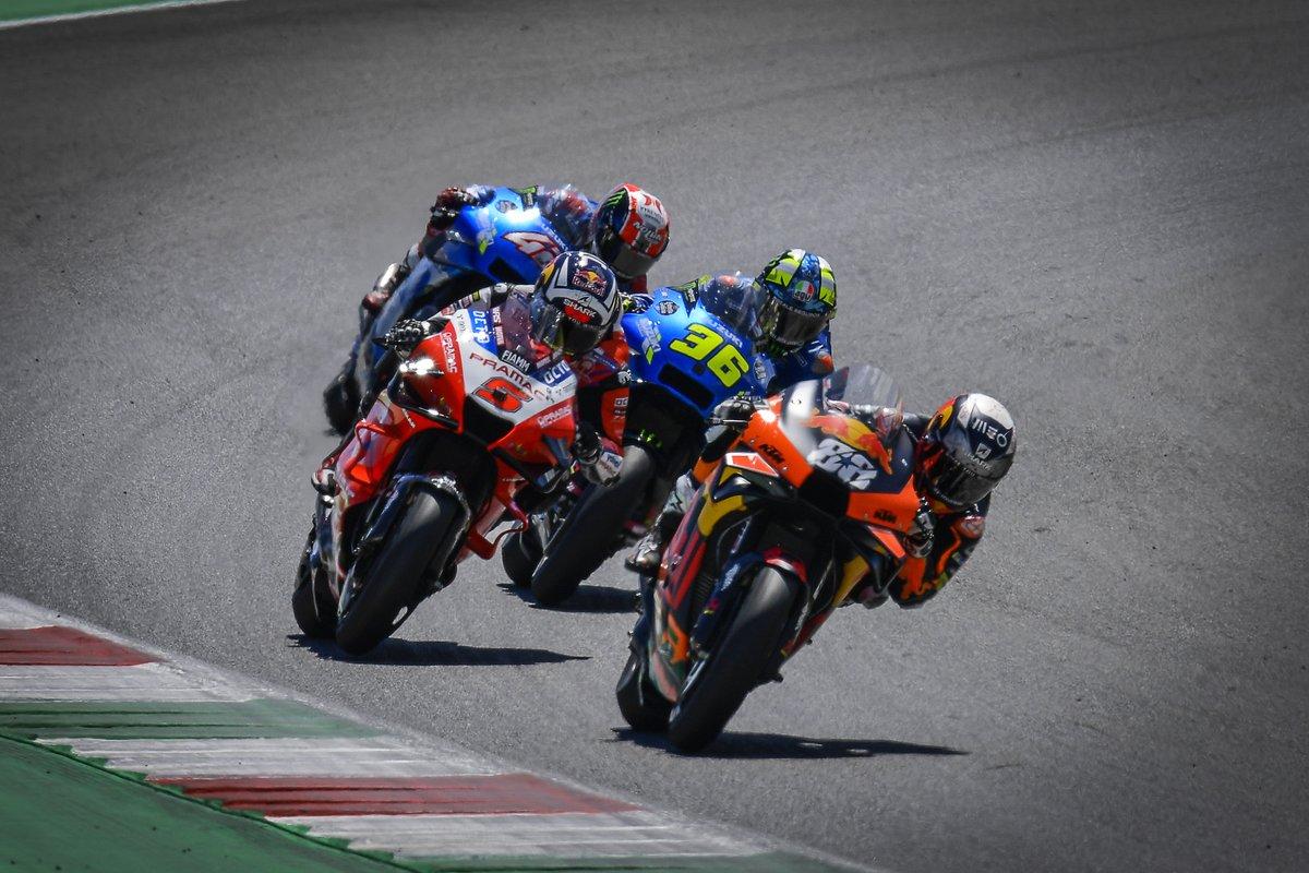 Miguel Oliveira, Red Bull KTM Factory Racing, Johann Zarco, Pramac Racing, Joan Mir, Team Suzuki MotoGP, Alex Rins, Team Suzuki MotoGP