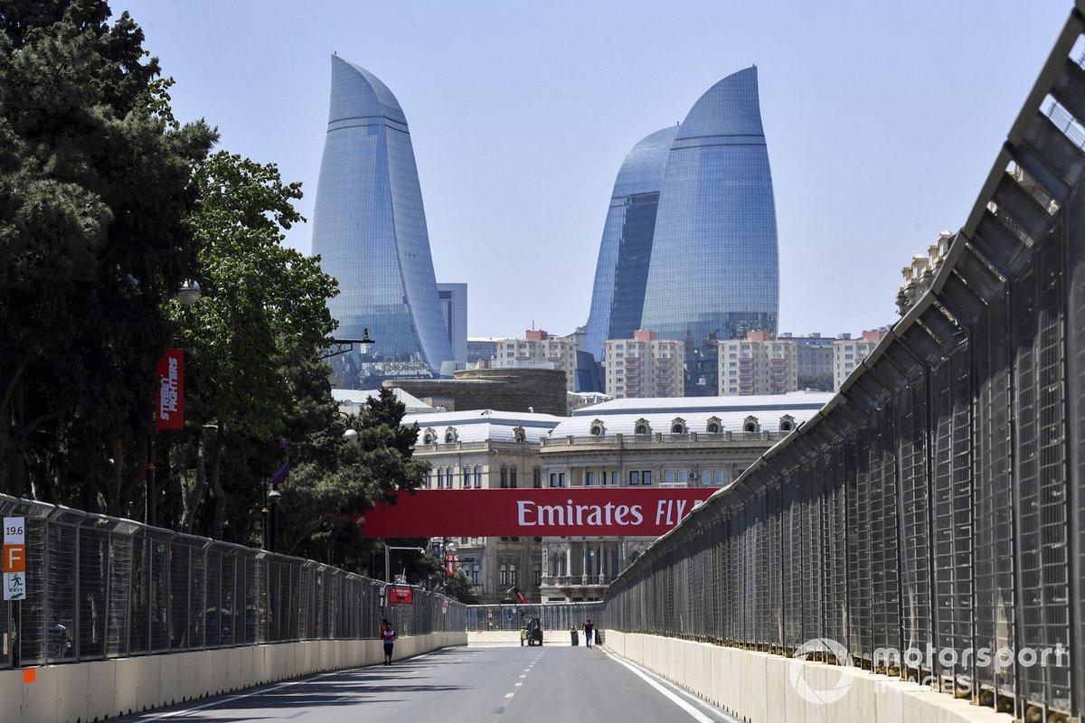 Ambiente en Bakú