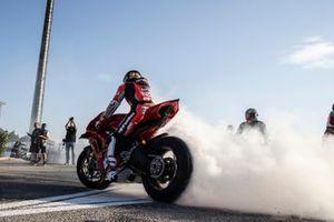 Michael Ruben Rinaldi, Aruba.It Racing - Ducati, sur la nouvelle place dans l'enceinte du circuit de Misano