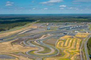 Vista aérea del circuito de Igora