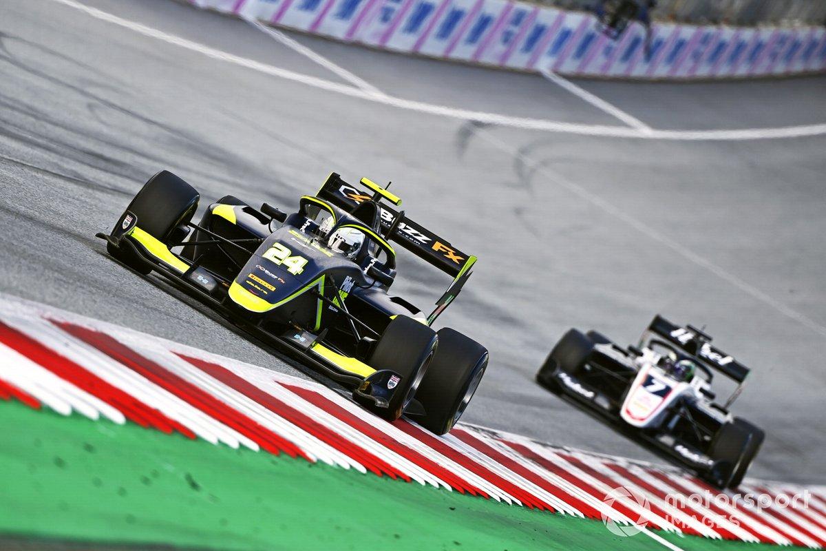 Kaylen Frederick, Carlin Buzz Racing, Frederik Vesti, ART Grand Prix