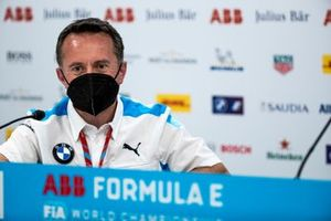 Roger Griffiths, Team Principal, BMW i Andretti Motorsport, in the press conference
