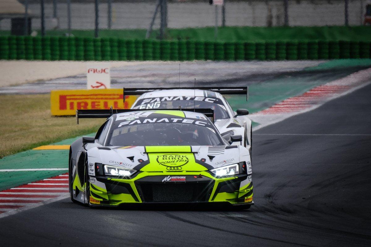 #31 Team WRT Audi R8 LMS GT3: Frank Bird, Ryuichiro Tomita