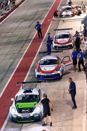 Simone Iaquinta, Dinamic Motorsport, Aldo Festante, Ombra Racing e Dziugas Tovilavicius, Ombra Racing
