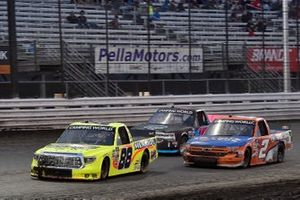 Matt Crafton, ThorSport Racing, Toyota Tundra Ideal Door / Menards and Sheldon Creed, GMS Racing, Chevrolet Silverado Liftkits4less.com