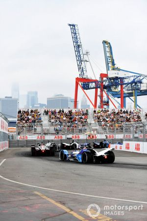 Oliver Rowland, Nissan e.Dams, Nissan IMO2, Maximilian Günther, BMW I Andretti Motorsports, BMW iFE.21