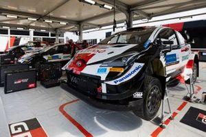 Le garage de Toyota Gazoo Racing