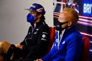 Фернандо Алонсо, Alpine F1, и Никита Мазепин, Haas F1