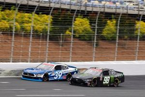 Riley Herbst, Stewart-Haas Racing, Ford Mustang Monster Energy, Ryan Sieg, RSS Racing, Ford Mustang CMR Construction and Roofing / A-Game