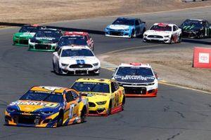 Ricky Stenhouse Jr., JTG Daugherty Racing, Chevrolet Camaro SunnyD