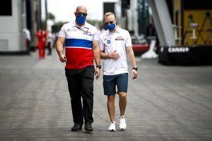 Никита Мазепин, Haas F1, в паддоке
