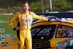 1. Kyle Busch, Joe Gibbs Racing, Toyota Camry M&M's Mini's