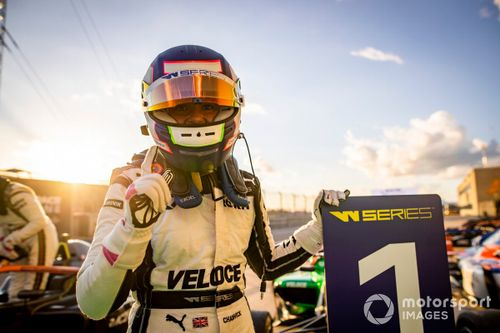 W Series US: Chadwick crowned champion after dominating finale