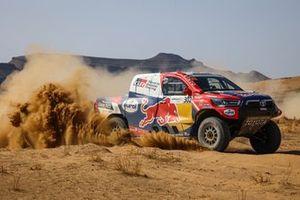 Nasser Al-Attiyah, Matthieu Baumel, Toyota Hilux