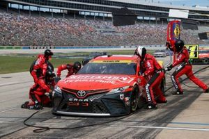 Denny Hamlin, Joe Gibbs Racing, Toyota Camry Craftsman