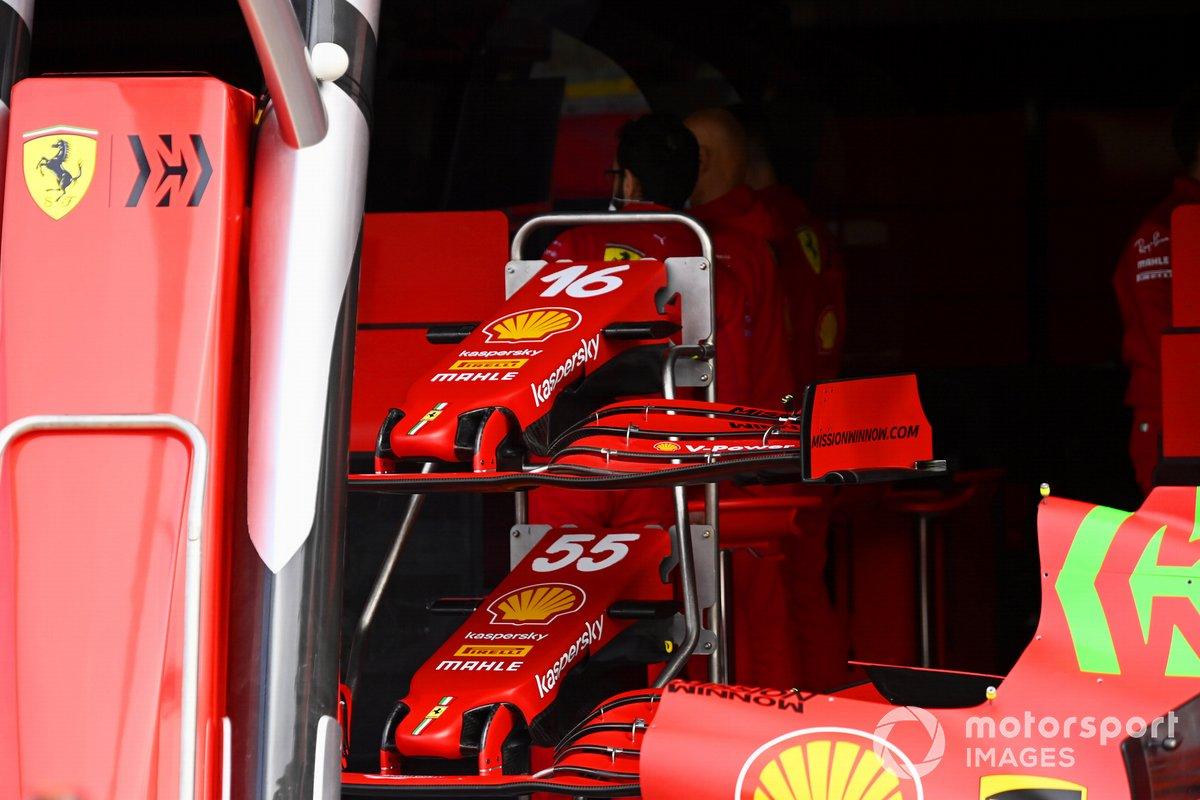 Carrocería del Ferrari